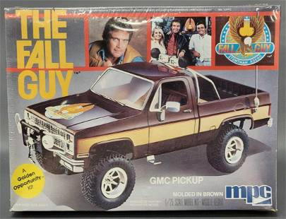 Factory sealed MPC The Fall Guy 1/25 scale GMC pickup