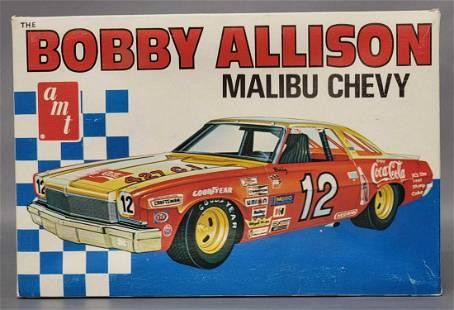 Mint unbuilt AMT Bobby Allison Malibu Chevy Coca Cola