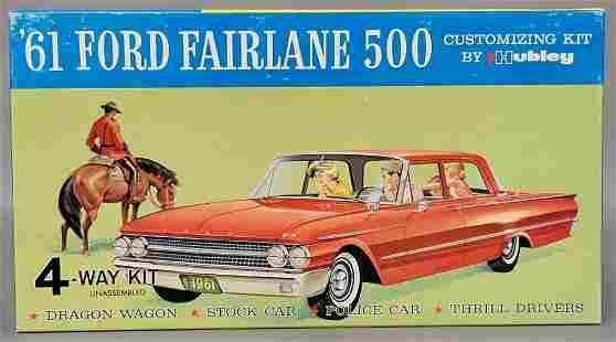 Mint unbuilt Hubley 1961 Ford Fairlane 500 1/24 scale