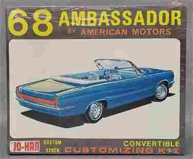 Factory sealed Jo-Han 1968 AMC Ambassador convertible