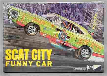 Rare factory sealed MPC Scat City Dodge Coronet funny