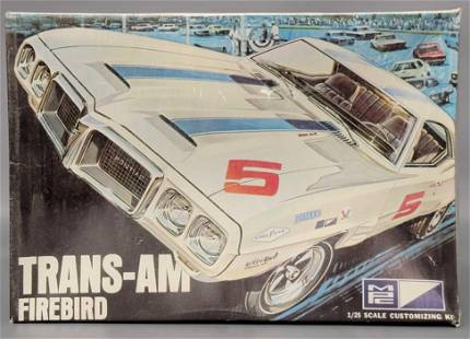 Factory sealed MPC 1969 Trans Am Firebird 1/25 scale