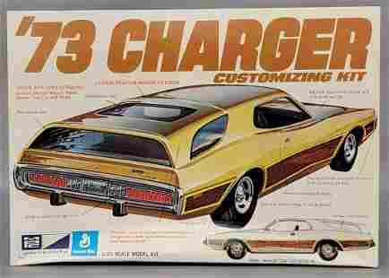 Unbuilt MPC 1973 Dodge Charger 1/25 scale model kit
