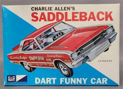 Mint unbuilt MPC Charlie Allens Saddleback Dart funny