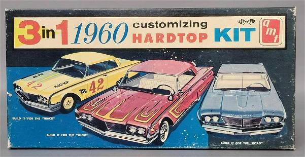 Unbuilt AMT 1960 Ford Starliner hardtop 1/25 scale