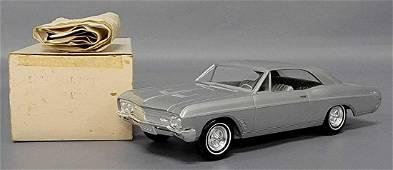 Rare 1966 Buick Skylark Hardtop promo car in Silver