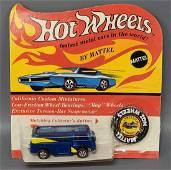 Hot Wheels Redline Blue Beach Bomb on Blister Card