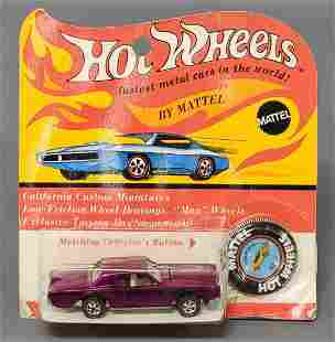Hot Wheels Redline Magenta Custom Continental Mark III