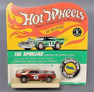 Hot Wheels Redline Red the Spoilers Heavy Chevy on