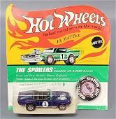 Hot Wheels Redline Purple the Spoilers Light My