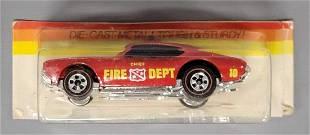Hot Wheels Redline Flying Colors Fire Dept Olds 442 on