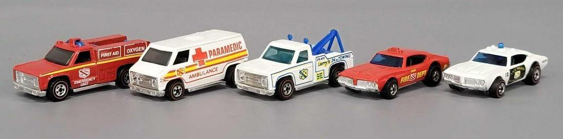 Hot Wheels Sears Mail Away Redline Emergency Vehicle