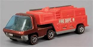 Hot Wheels Redline Heavyweights Red Cab Fire Truck