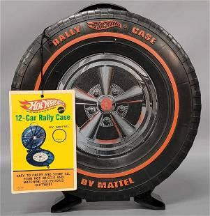 "Hot Wheels Redline 12"" Rally Case with Original Hang"