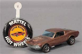 Hot Wheels Redline HK copper with dark interior Custom