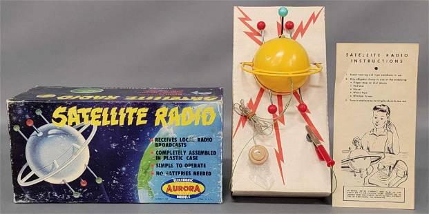 Aurora Satellite Radio Electronic Models Kit No.