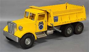 Die cast Smith Miller yellow Teamsters Union Service