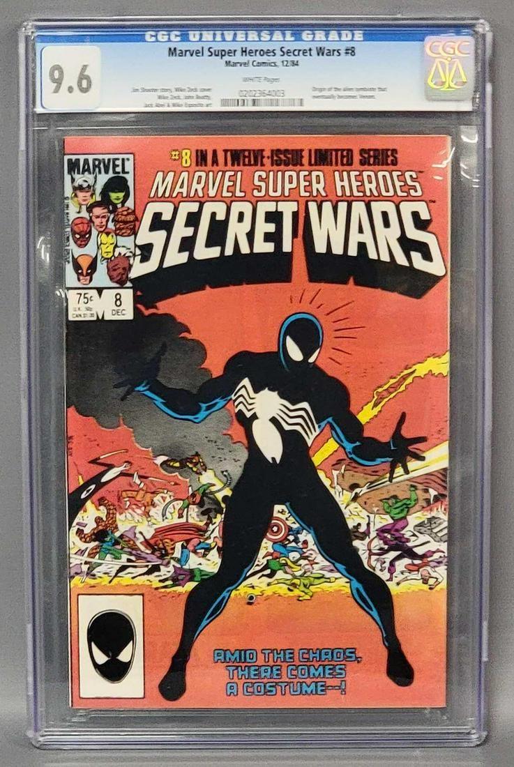 CGC 9.6 Marvel Super Heroes Secret Wars 8 1st