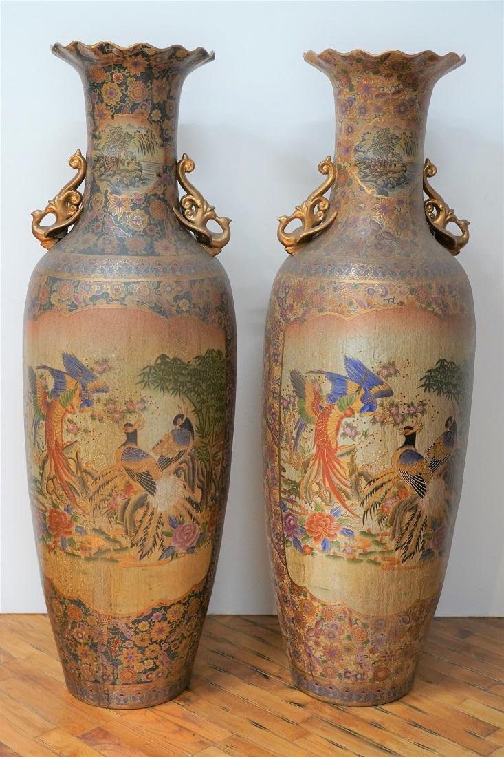 Official Movie Prop 2 Asian Urns from Oblivion