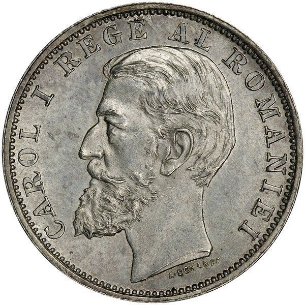 1020: Romania: A Pair of Coins 1900 and 1894.