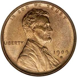 1066: 1909-S V.D.B. Lincoln Cent PCI MS-65, RED.