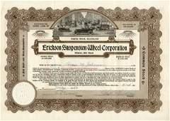 2512: Erickson Suspension Wheel 1923 Stock