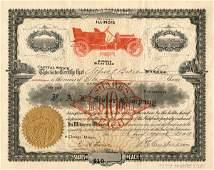 2513: F.A.L. Motor 1910 Stock Certificate