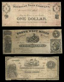 3160: MI Michigan Mining Co. Notes (3)