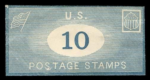 4088: Postage Stamp Env. D. Appleton 10 cents