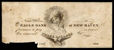 6002: CT Eagle Bank of New Haven. $3 Proof