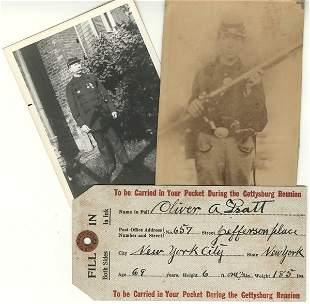 CIVIL WAR: GETTYSBURG VETERAN 4 DS, 2 photos