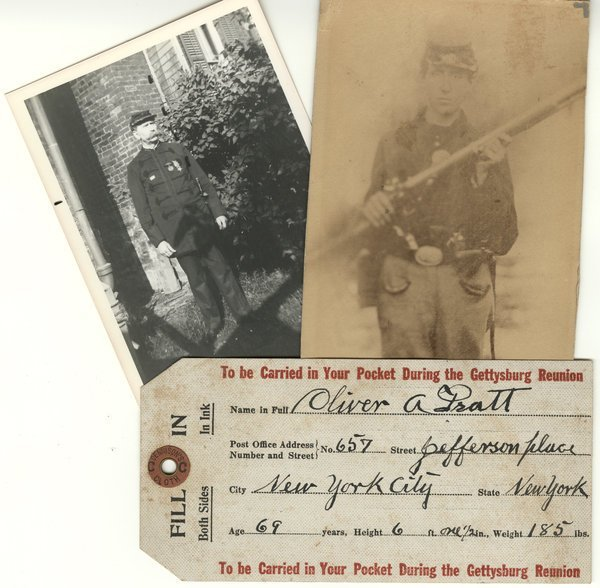 CIVIL WAR: GETTYSBURG VETERAN 4 DS, 2 photos