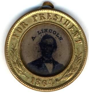 CLEVELAND/THURMAN HANDKERCHIEF 1888 elect