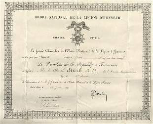 FRENCH: LEGION D'HONNEUR - 1919 to US GI