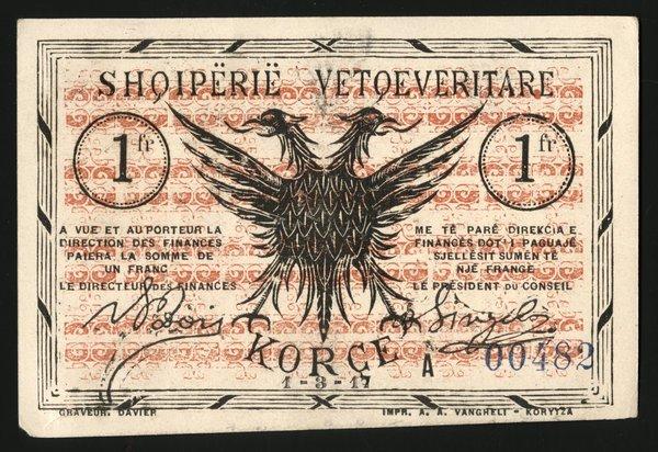 Albania - Korce. P-S107; S109; S115