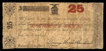 AL Eufaula Young, Woods & Gardner 25¢