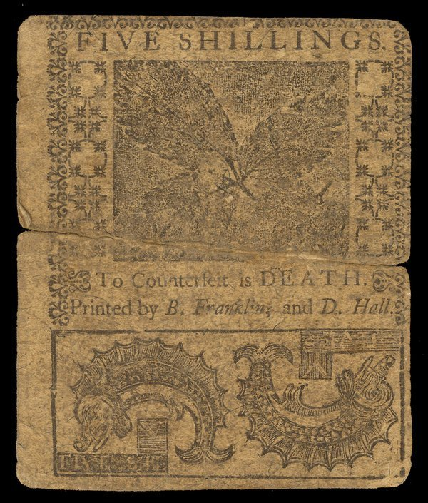 Colonial Delaware 1759 5s, 15s, 20s