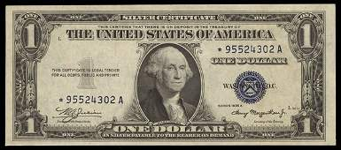Silver Certificate A Trio of 1935 $1