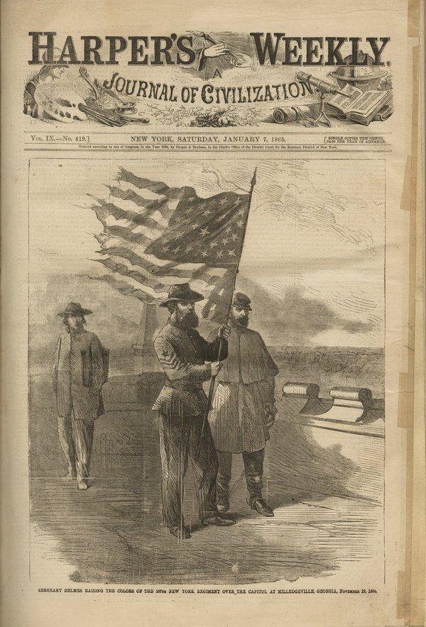HARPER'S WEEKLY, JAN-JUNE 1865 library bound