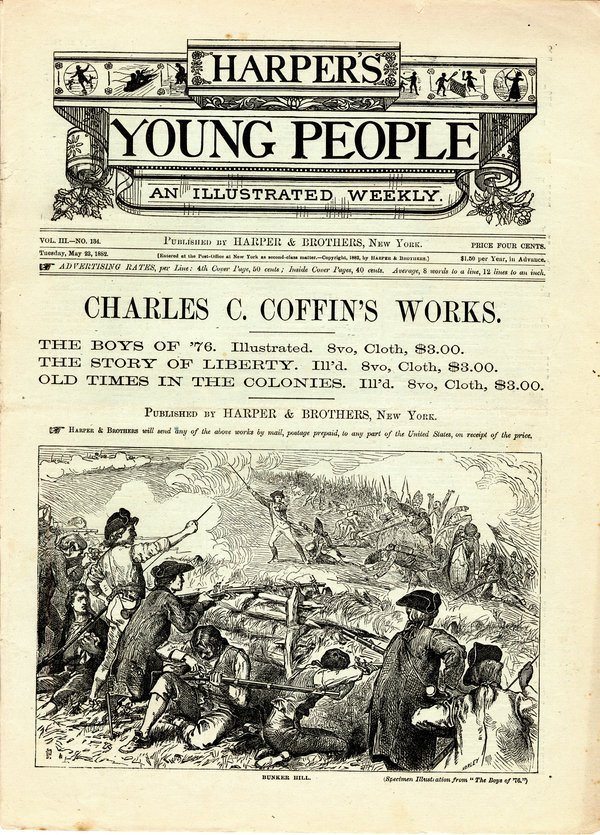HARPER'S YOUNG PEOPLE 1881-82 12 issues