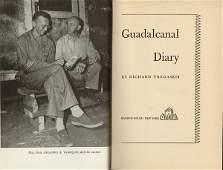 TREGASKIS: GUADALCANAL DIARY, 1st Ed. W/dj