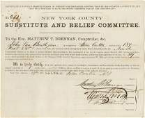 SUBSTITUTE SOLDIERS - 1863  64 docs