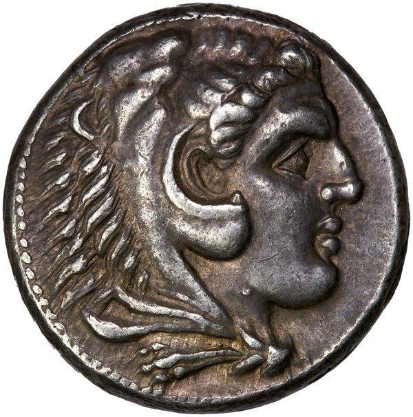 Greek Macedon Alxndr III, Gt Ttrdrchm Damascus