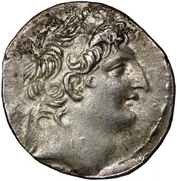 Greek Syria Antiochos VIII Crypos Epiphanes Tdm.
