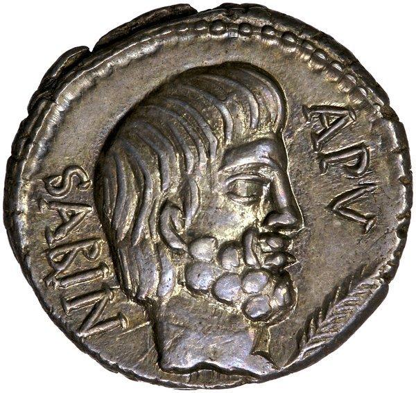 Roman Rep. Titurius Sabinus Denarius