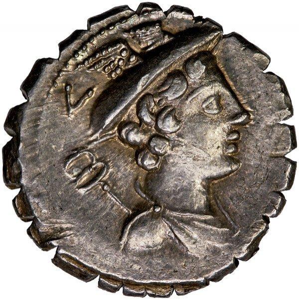 Roman Rep. Mamilius Limetanus Denarius