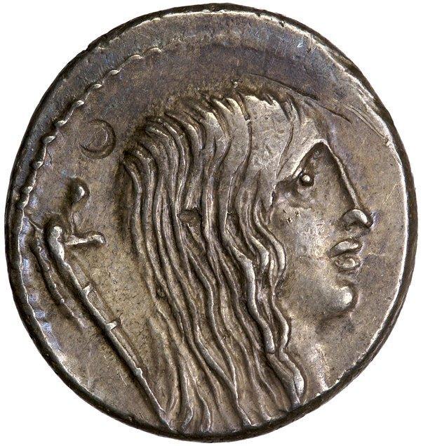 Roman Rep. Hostilius Saserna Denarius