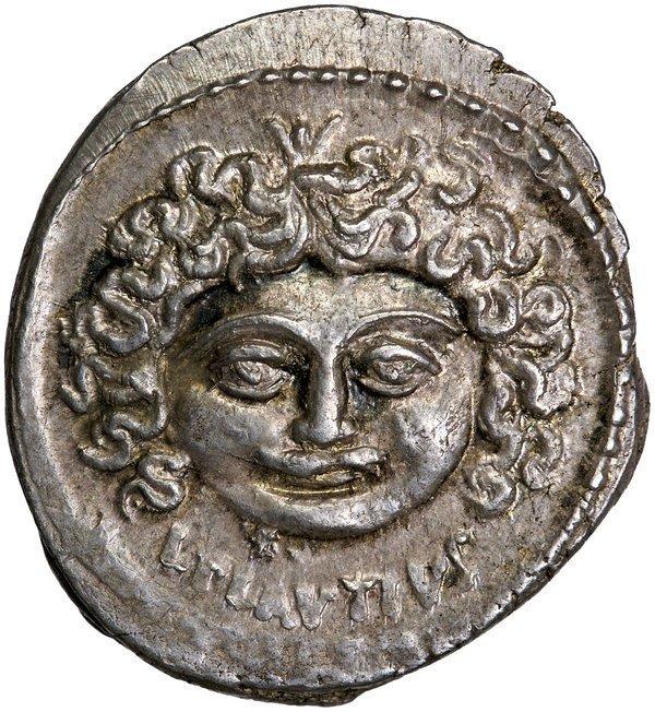 Roman Rep. Plautius Plancus Denarius