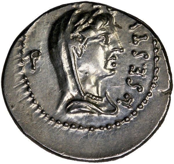 Roamn Imp. Brutus Denarius CRAW 502/2