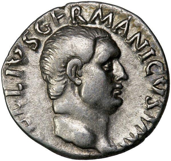 Roman Empire Vitellius Denarius RIC 1390